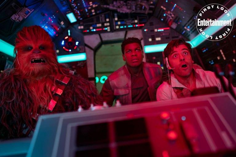 Novas imagens de Star Wars: A Ascensão Skywalker, pela Entertainment Weekly! 19