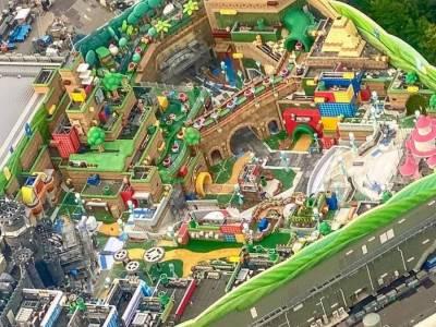 Vazam novas imagens do parque Super Nintendo World 13