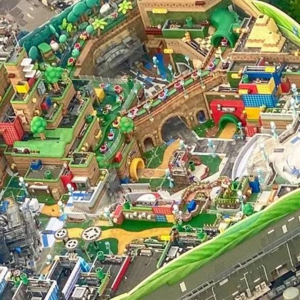 Vazam novas imagens do parque Super Nintendo World 16