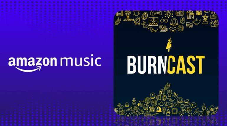BurnCast também está disponível no Amazon Music! 16