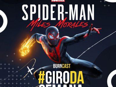 GIRO DA SEMANA #29: Spider-Man: Miles Morales, Hamilton e Johnny Depp fora de Animais Fantásticos 13