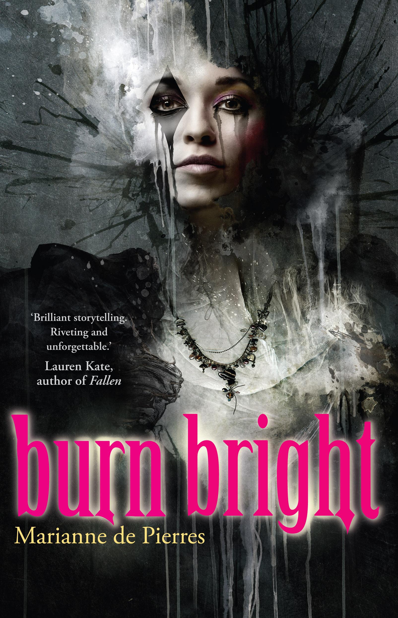 """""""Burn Bright"""" by Marianne de Pierres"""
