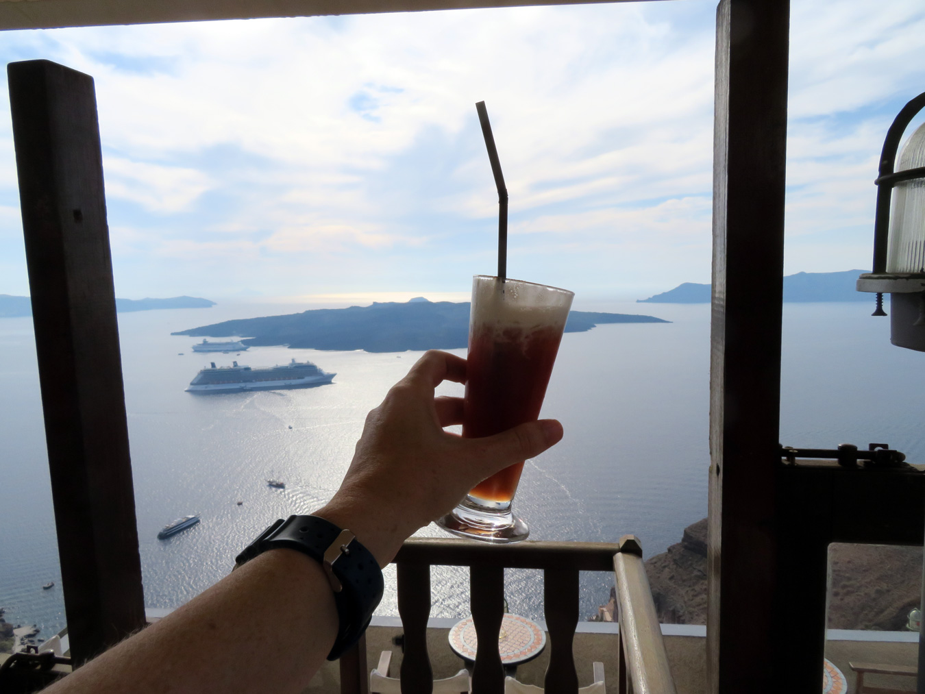"The ""Liquid Gold"" in Santorini Isn't Wine; It's Cactus Juice"