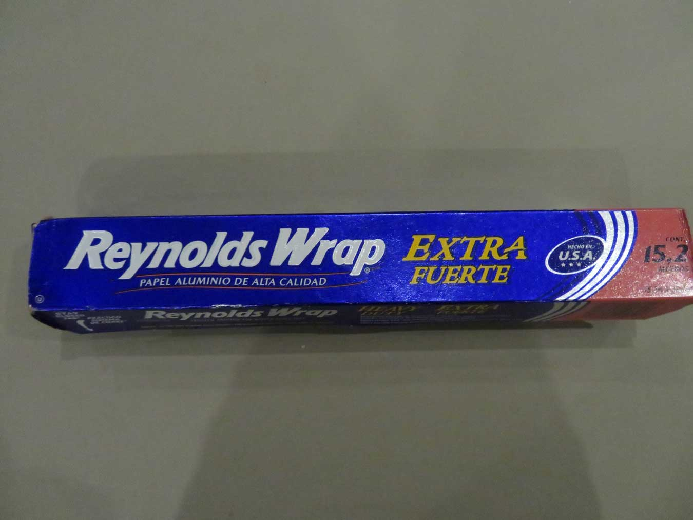 Reynold's Wrap: better than any foil in Europe.  Trust me.