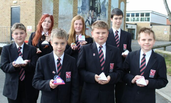 Burnham-On-Sea and Highbridge school students create gift boxes to thank local keyworkers