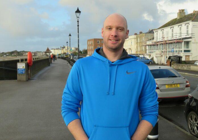 Burnham-On-Sea runner Shaun Keen