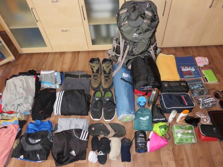 Packliste Australien