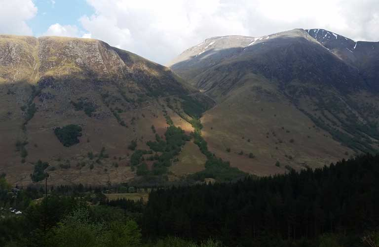 Ben Nevis West Highland Way Schottland