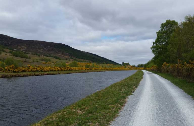 Great Glen Way Schottland Wandern Caledonian Canal