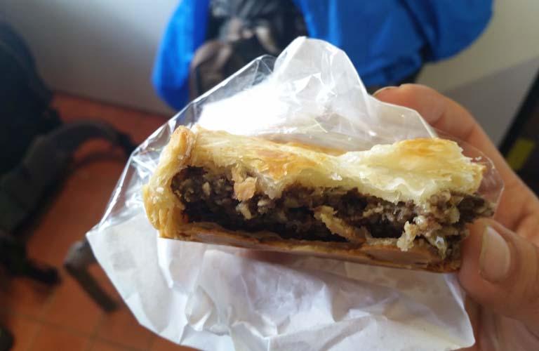 Haggis Pie in Schottland Wandern