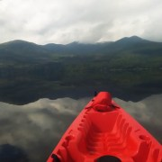 Kayaking tour Killarney National Park Ireland