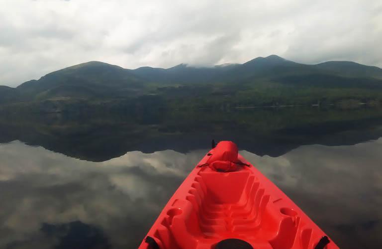 Kayaking tour Killarney National Park Ireland