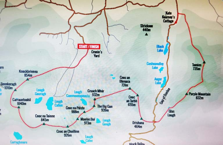 Killarney Ultimate high peaks challenge