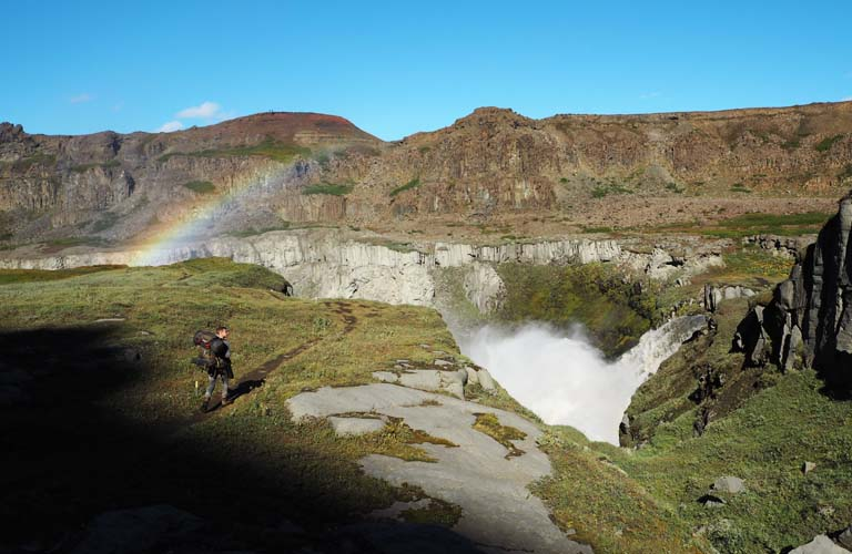 Trekking Island Aktivurlaub Iceland Hiking