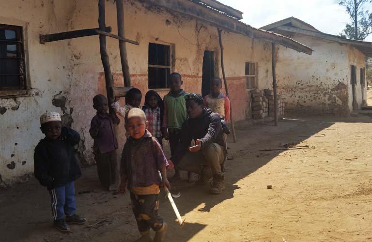 Kinder Tansania