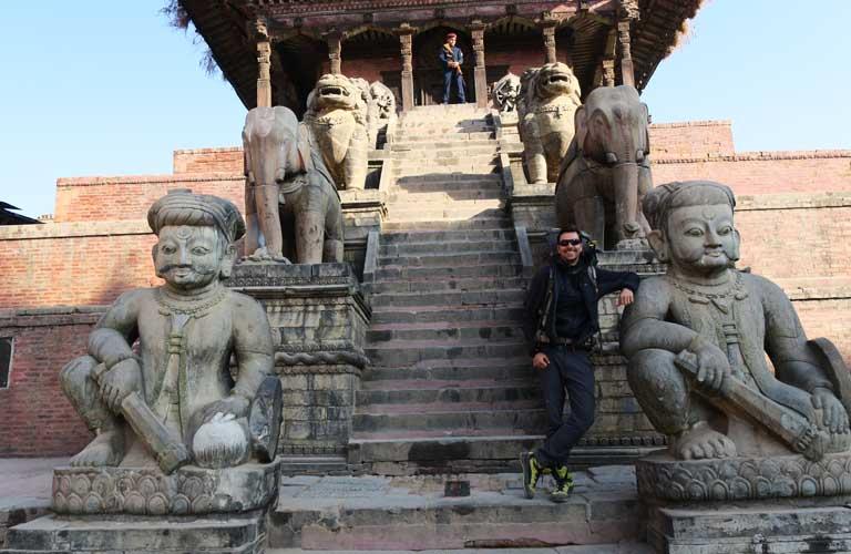 Bhaktapur Durbar Square Nepal Erdbeben
