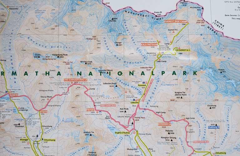 3 Passes Trekking Nepal