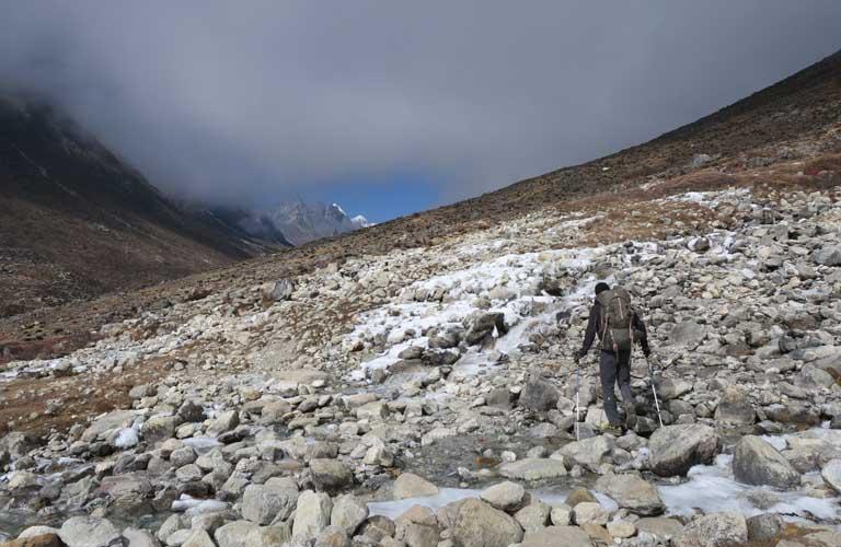 Etappen 3 Passes Trek Everest Trekking