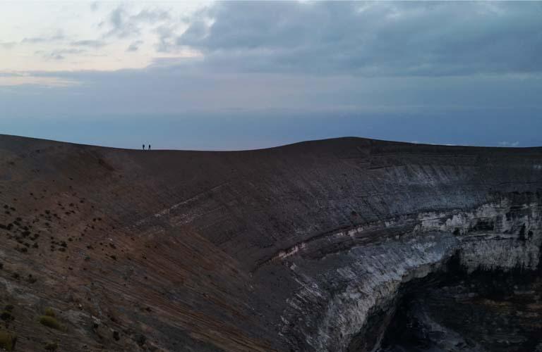 Caldera Ol Doinyo Lengai Trekking Tansania
