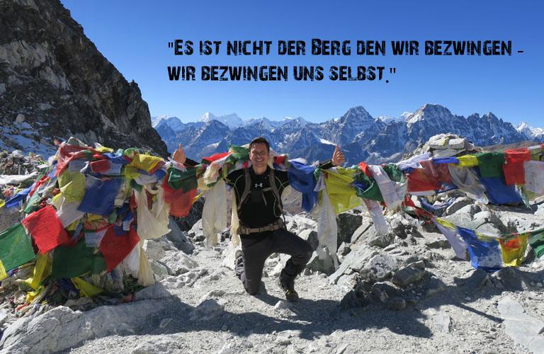 Stefan Schüler Trekking Bergsteigen Nepal Mount Everest Trekking Renjo La Pass