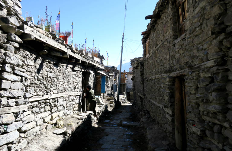 Annapurna Circuit Trek Nepal Khangsar