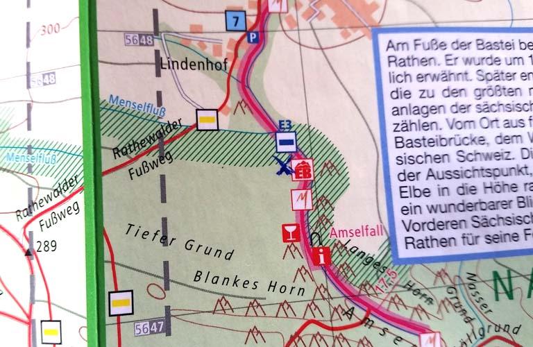 Amselfall Malerweg Zelten Sächsische Schweiz Trekking Deutschland