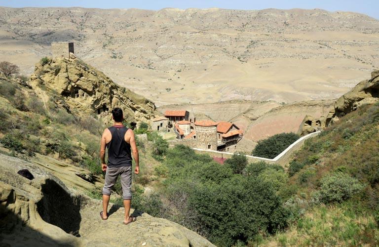 Kloster David Gareja Caves Udabno Georgien Dawit Garedscha