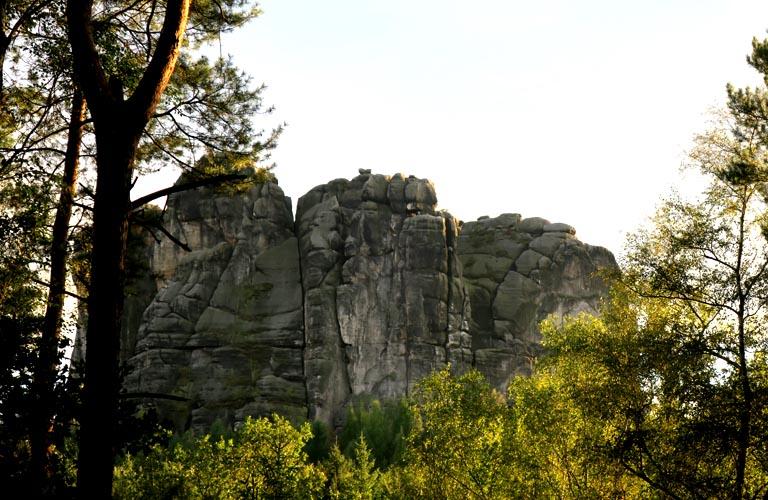 Malerweg Zelten Falkenstein Sächsische Schweiz Trekking Deutschland