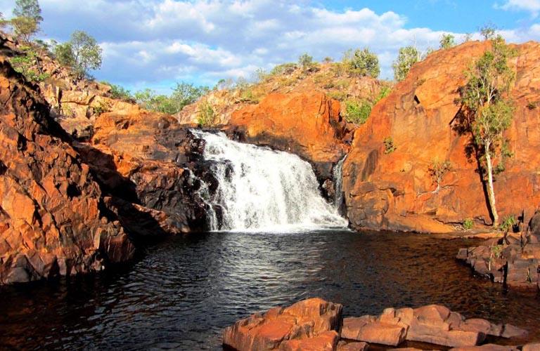 Upper Edith Falls Jatbula Trail Australien Trekking Outback