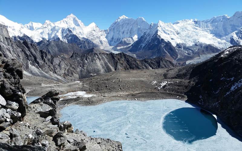Nepal Trekking ohne Guide Annapurna Runde SoloThree Passes Trek Everest
