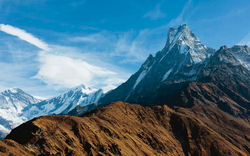 Machapuchare Mardi Himal Trek Nepal Trekking Annapurna Conservation Area