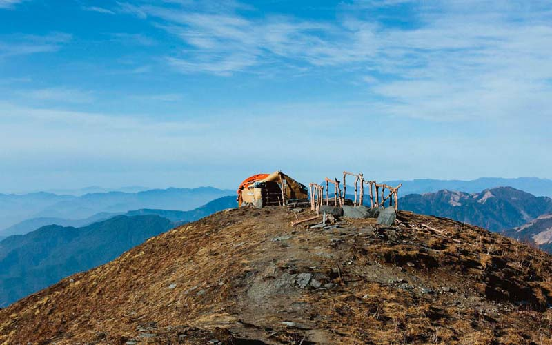 Upper View Point Mardi Himal Trek Nepal Trekking Annapurna Conservation Area