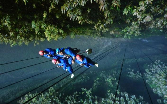 Lost World Neuseeland Waitomo Caves Höhlenklettern Reisebericht