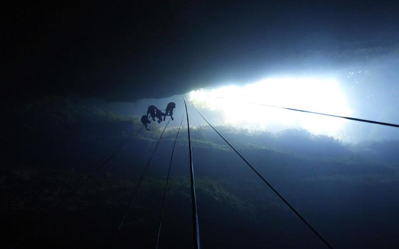 Sehenswürdigkeit Lost World Neuseeland Waitomo Caves Höhlenklettern Reisebericht