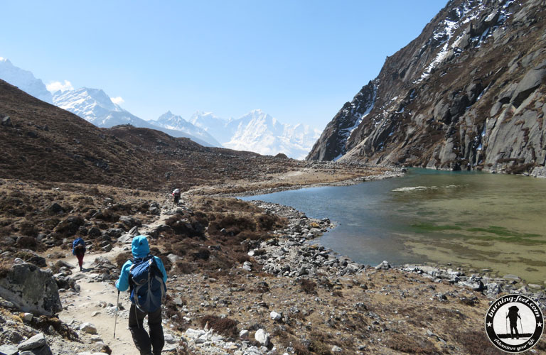 First Lake Gokyo Valley