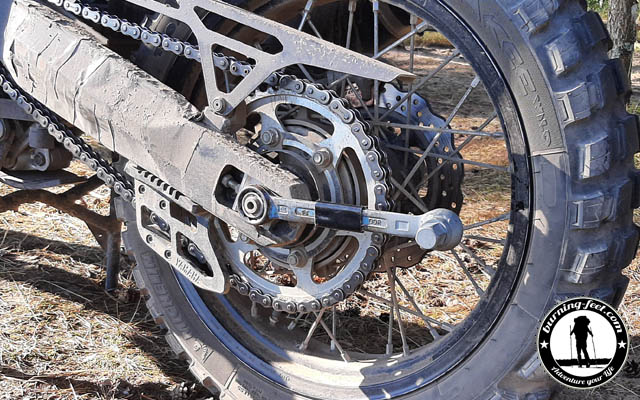 Reifenwechsel Yamaha Tenere 700