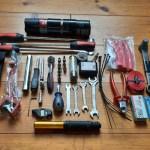 Werkzeugliste Yamaha Tenere 700