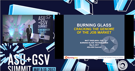 ASU GSV Summit: Cracking the Genome of the Job Market