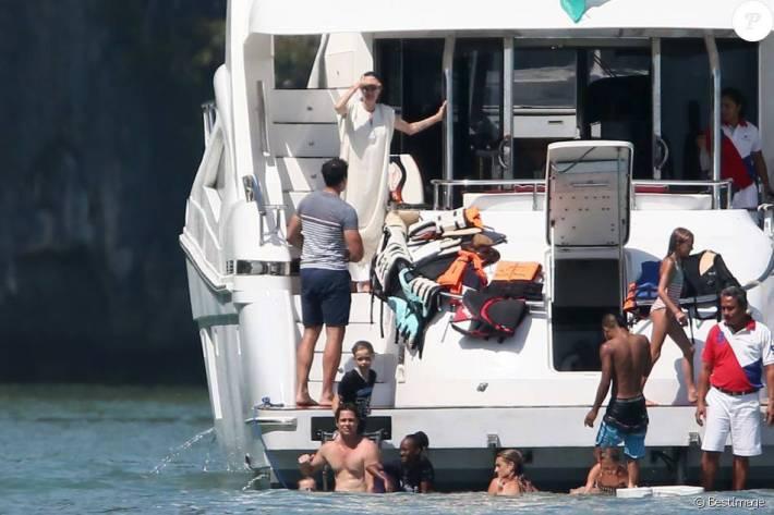 brangelina Thailand Urlaub Angelina Jolie Brad Pitt Holiday Divorce Family