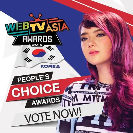 Jannine Weigel Web TV Asia Award