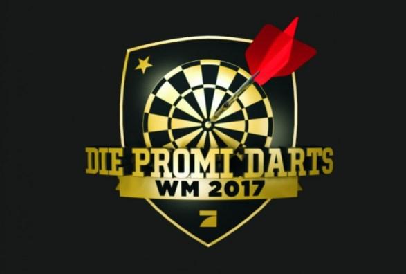 Promi Darts WM Dartscheibe Prosieben