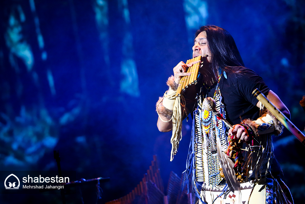 Leo Rojas Iran 2018 Tehran Milad Tower