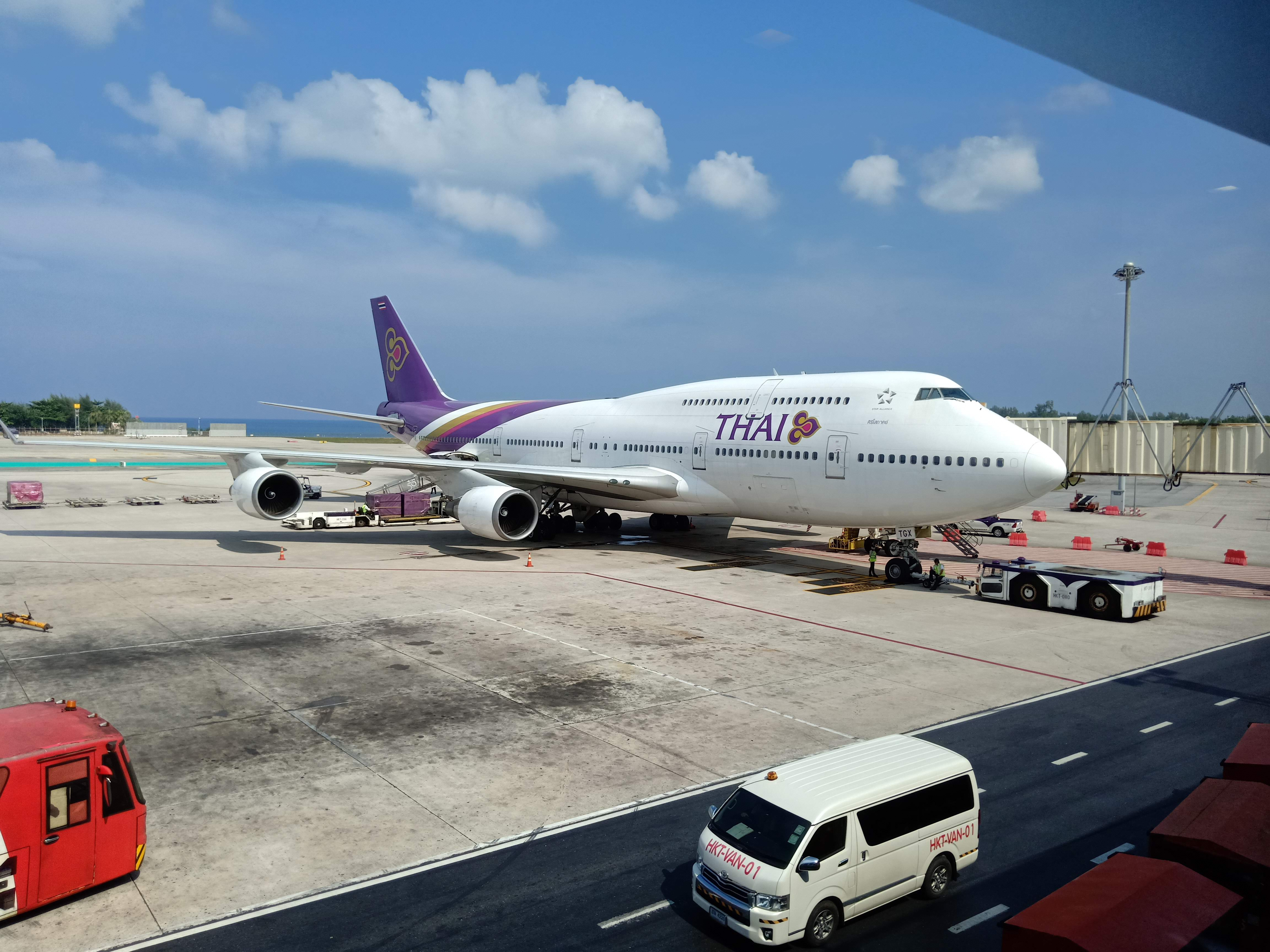 Thai Airways by burning-music.de
