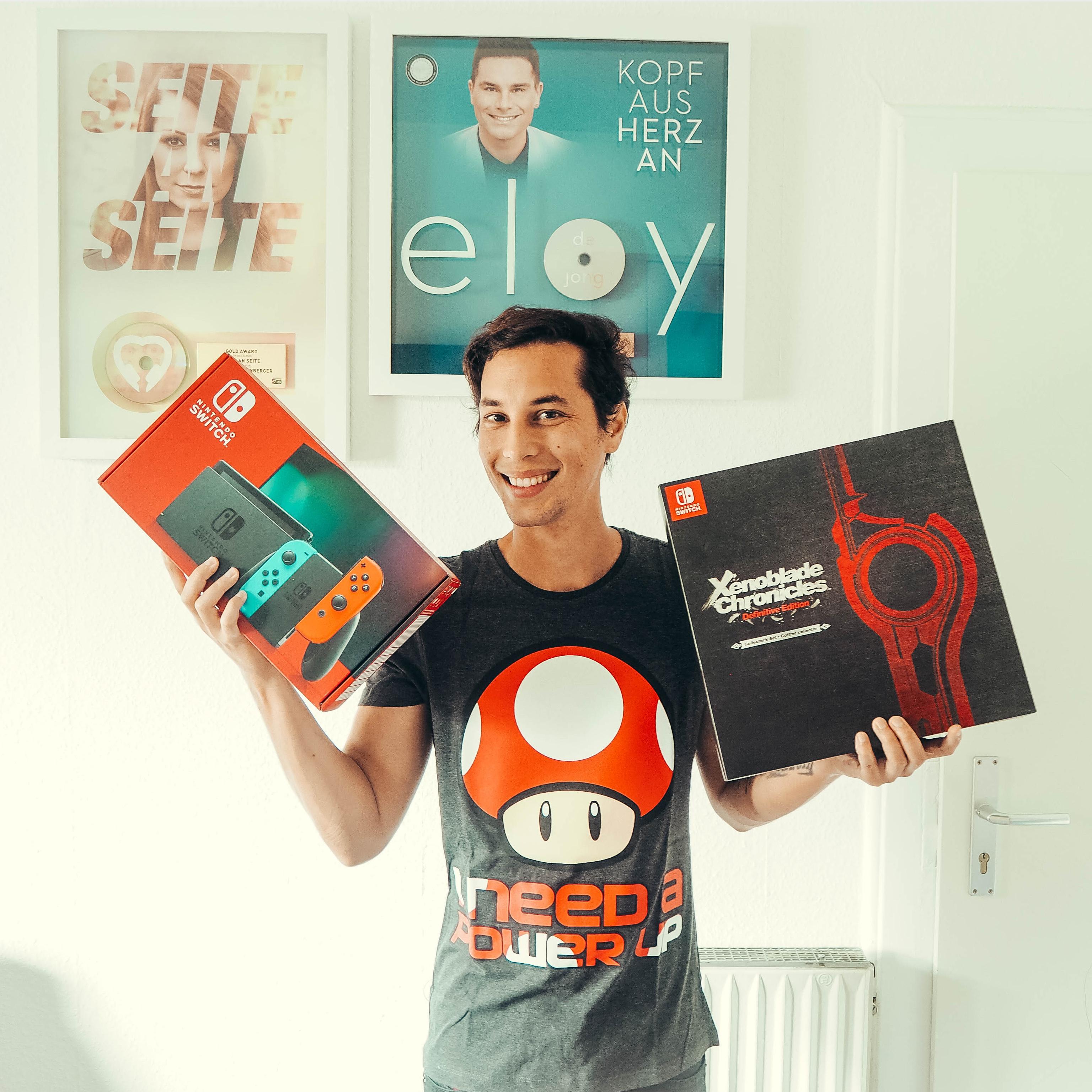 Nintendo Deutschland Patrick Kronenberger Nintendo Switch Xenoblade Chronicles Definitive Edition