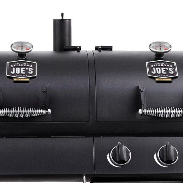 Char Broil Charcoal and Gas Combo Smoker