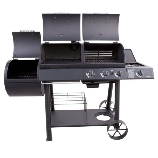 Char Broil Combo Offset Smoker