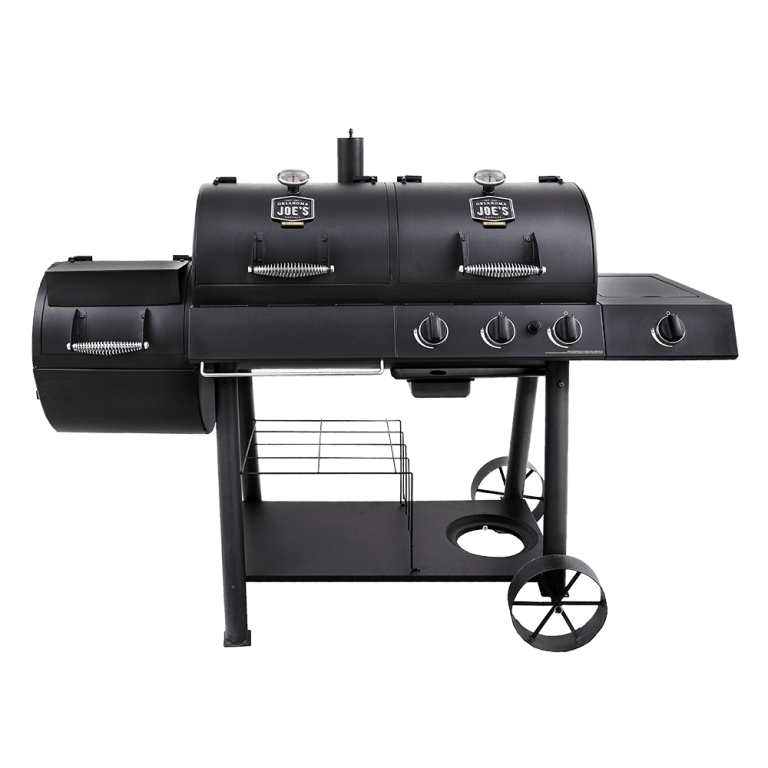 Longhorn Combo Charcoal and Gas Offset Smoker