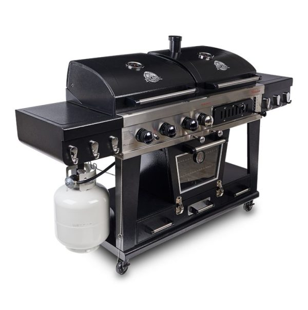 Pit Boss Memphis Ultimate 4-in-1 Gas, Electric, Charcoal Smoker