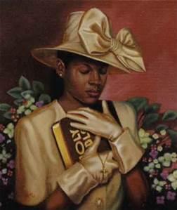 African American Woman Art