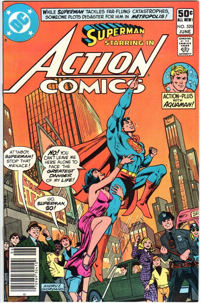 Action Comics (1938) #520 MJ